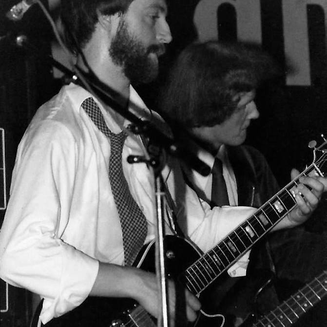 Colin and Andy at the Marquee Club